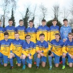 Colts U17 Squad wearing their new strip as provided by Bank of Ireland