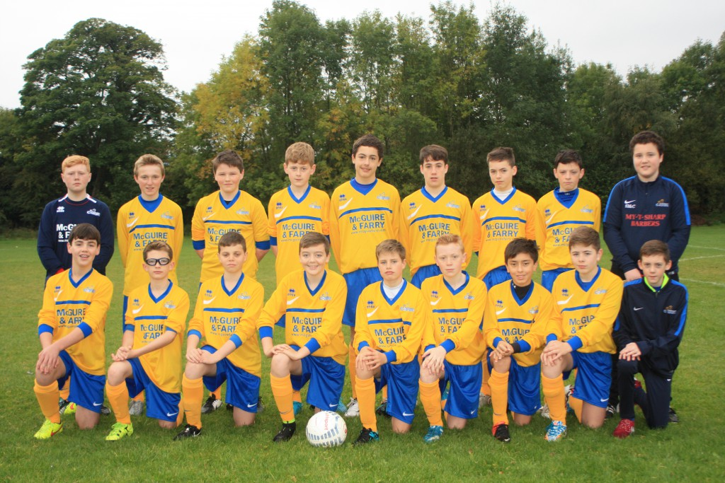 Carryduff Colts U15 B team